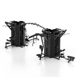 Wieża 9-stanowiskowa maxi mp-t003 - marbo sport - antracyt metalic  czarny