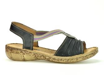 Sandały loretta l0856-15 czarne