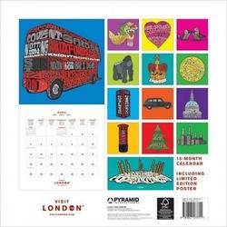 Czerwony autobus - londyn - kalendarz 2012 r.
