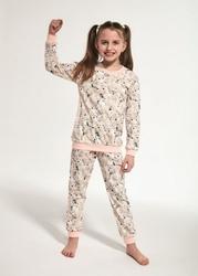 Cornette young girl 033118 polar bear 134-164 piżama dziewczęca