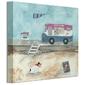 Ciężarówka z lodami - obraz na płótnie