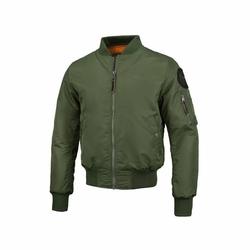 Kurtka Pit Bull West Coast Bomber Jacket Ma-1 Olive Green - Olive Green