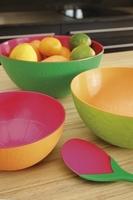 Zak miska 20 cm melon zielono- pomarańczowa