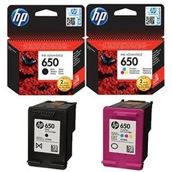 Tusze Oryginalne HP 650 CZ101AE, CZ102AE komplet - DARMOWA DOSTAWA w 24h