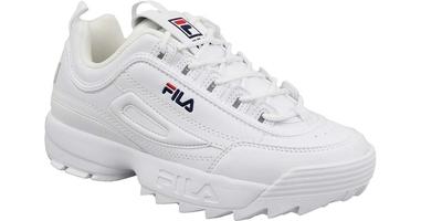 Fila disruptor low wmn 1fg white 37 biały