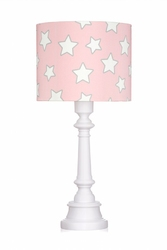 Lampa stojąca - pink stars