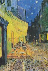 Vincent Van Gogh - Terrasse de Café - plakat Wymiar do wyboru: 70x100 cm