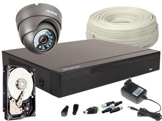 Zestaw 4w1 1x kamera fullhdir20m, rejestrator 4ch+hdd 1tb - szybka dostawa lub możliwość odbioru w 39 miastach