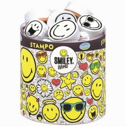 Zestaw stempli SMILEY WORLD - buźki