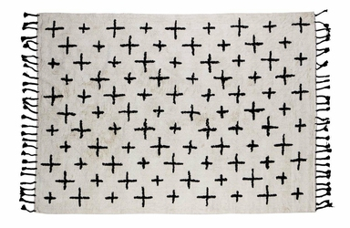 Be Pure :: Dywanik More 170x240 cm - biało-czarny