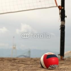 Tapeta ścienna siatkówka plażowa