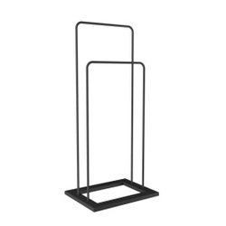 Loft decora :: wieszak stojący tstand czarny wys. 90 cm
