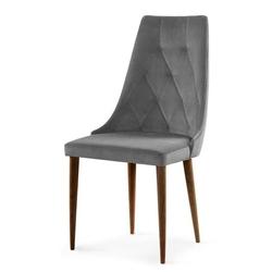 Nowoczesne krzesło carmen ii velvet