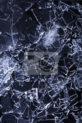 Naklejka potłuczone szkło