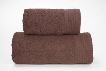 Ręcznik PERFECT Greno czekoladowy - czekoladowy