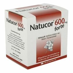 Natucor 600 mg forte w tabletkach powlekanych