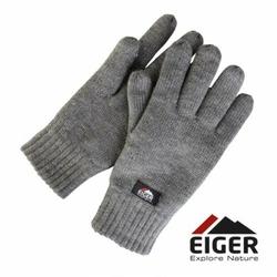 Rękawiczki ocieplane Eiger Knitted Glove whit 3m Thinsulate Lining Grey roz. L