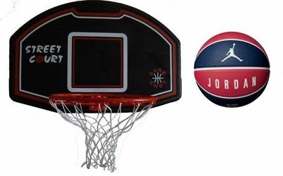 Zestaw do kosza 506 Bronx Sure Shot + Piłka do koszykówki Jordan Ultimate 8P
