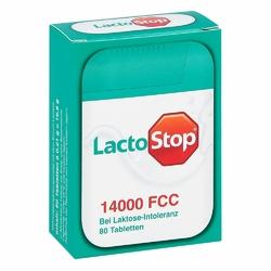Lactostop 14.000 FCC  tabletki w dozowniku