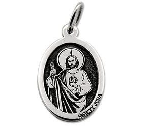 Medalik srebrny z wizerunkiem św. judy med-jud-01