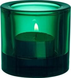 Świecznik kivi emerald