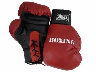 Rękawice bokserskie wiązane rb 12 shin-do