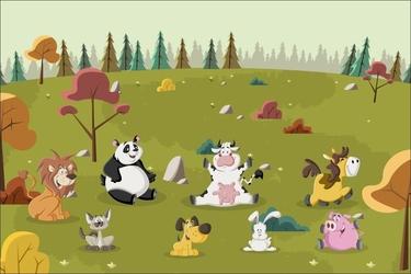 Fototapeta dla dzieci zwierzątka 1434