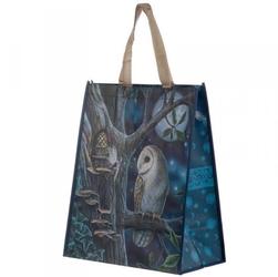 Sowa i wróżka - torebka zakupowa