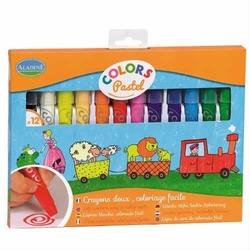 Pastelowe kredki dla dzieci colors pastel - zestaw