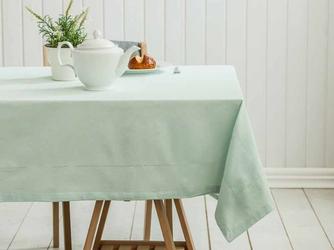 Obrus na stół altom design bawełniany miętowy 160 x 240 cm