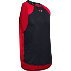 Koszulka męska ua baseline performance tank - czerwony