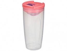 Bidon shaker to go™ 700 ml, pomarańczowy, sistema®