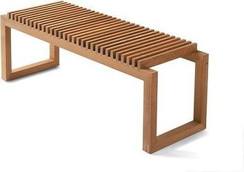 Ławka cutter drewno tekowe 120 cm