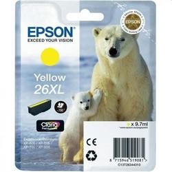 Tusz oryginalny epson t2634 c13t26344010 żółty - darmowa dostawa w 24h