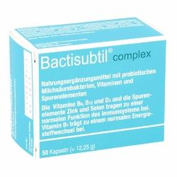 Bactisubtil Complex kapsułki