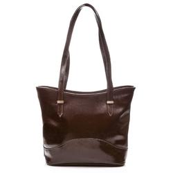 Elegancka damska torebka miejska brązowa