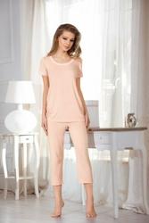 Babella Ivet Brzoskwiniowa piżama damska