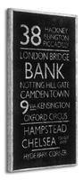 London destinations  - obraz na płótnie