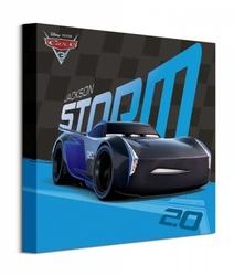 Cars 3 jackson storm - obraz na płótnie