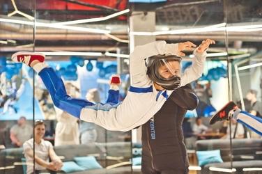 Tunel aerodynamiczny w lesznie - dziecko - 2 loty dni robocze