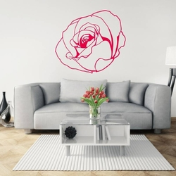 Szablon malarski róża 20sm79