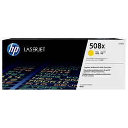 HP 508X oryginalny wkład laserowy o dużej pojemności, żółty