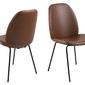 Krzesło carno brązowe