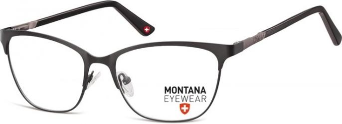 Oprawki kocie optyczne montana mm606 czarno-grafitowe