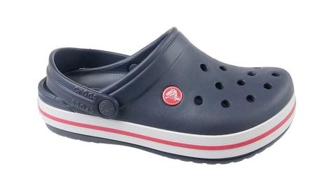 Klapki crocs crocband clog k 204537-485 2223 granatowy