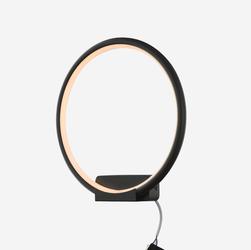 Altavola Design :: Kinkiet Ledowe Okręgi no. 1 in 3k czarny - delikatnie ciepła