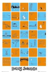 Bunny suicides - plakat