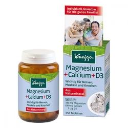 Kneipp magnez + wapń + d3 tabletki