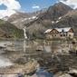 Fototapeta schronisko w górach fp 1910