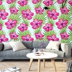 Hawaii design - tapeta na ścianę , rodzaj - tapeta flizelinowa laminowana